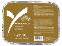 Active Gold Hot Wax XXX, 1kg